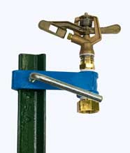 T Post Sprinkler, Buckner-Storm Half-Inch Full Circle Brass Impact Sprinkler