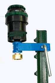 T Post Sprinkler, Orbit Half-Inch Adjustable Pattern, Gear Head Sprinkler
